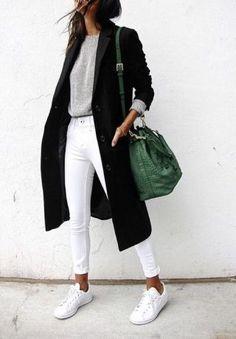 Black, White, Green