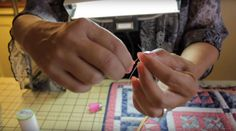 Hand quilting doesn't have to be hard with these easy steps!