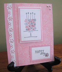Blooming with Happiness Birthday Card