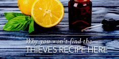 The Thieves Recipe... or not
