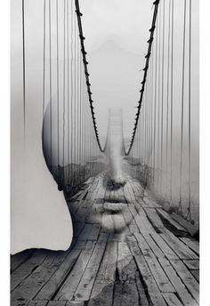 Dream Portraits: Digital Art Portraits by Antonio Mora. Dream Portraits: Digital Art Portraits by Antonio Mora. Double Exposure Photography, Abstract Photography, Creative Photography, White Photography, Photography Portraits, Contrast Photography, Levitation Photography, Experimental Photography, Minimalist Photography