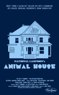 Animal House Poster By Mari-Janes