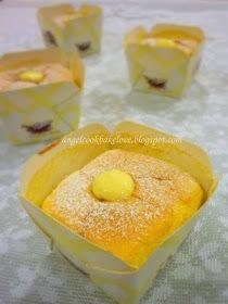 Sponge cake with milk