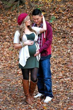 Fall maternity photos