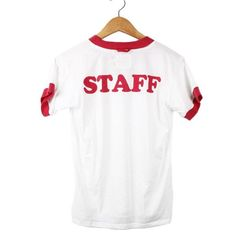 Camp Staff Ringer Tee (view more colors)