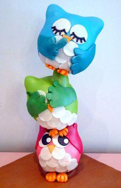 cute Owls cake