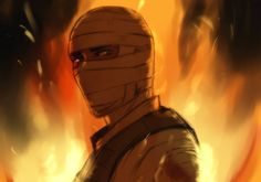 The Burned Man by Nateyou.deviantart.com on @deviantART // There's a major soft spot in my heart for Joshua Graham O:)