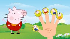 #Hello Kitty #Peppa Pig Family / #Finger Family Song / Nursery Rhyme Lyrics Pig Family, Finger Family, Nursery Rhymes Lyrics, Family Songs, Peppa Pig, Tweety, Pikachu, Hello Kitty, Fictional Characters
