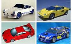 PaperCraft directory: Car paper model toy templates
