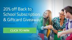Hotspot Shield is having a huge back to school giveaway: enter now to win one of five $100 gift cards and one of ten 1-year Hotspot Shield Elite subscription (of $29.95 each). Good luck!