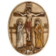 XII estación Vía Crucis piedra Bethléem