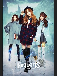 Hogwarts - Tiffany, Taeyeon & Seohyun by Pluto Parallax