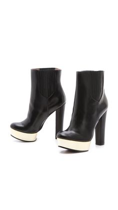 giving the good ol' black some umpf!  Rachel Zoe London Booties