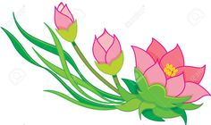 day lily clip art clipart of flower in a pot image contains a rh pinterest com