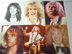 VINTAGE 1970's PETER FRAMPTON LOT OF 10 8 x 10 COLOR/ B-W PHOTOS CONCERT STILLS+