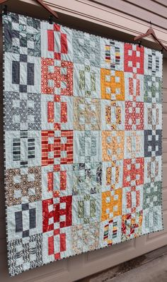 Salt Air Crossing Twin-Sized Quilt | FaveQuilts.com