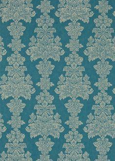 Katarina Peacock wallpaper by Zoffany