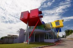 Contertainer, designed by dpavilion architects of Surabaya – Indonesia, is an amalgam of two words: container and entertainer. From its oute...