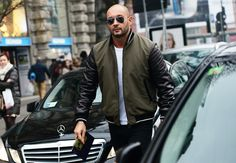 Milan Vukmirovic | Tommy Ton's Street Style: Milan Fashion Week | January 12, 2014