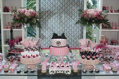 decoração festa barbie moda e magia