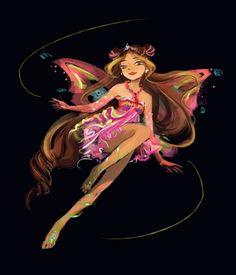 Winx club | fairies <3 Winx Club, Winx Magic, Les Winx, Flora Winx, Fanart, Anime, Magical Girl, Witch, Character Design