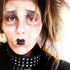 It is up!!! Please stop by and check out our Amazingly talented guest blogger Elise Bigley transform herself into #edwardscissorhands in the #halloweenmakeup #transformationtuesday  Like and share with in the actual post if you enjoyed this post!!! XOXOXO Hope