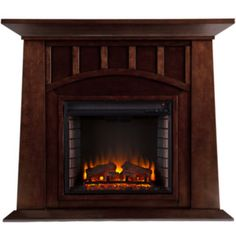 Sellien Electric Fireplace  found at @JCPenney