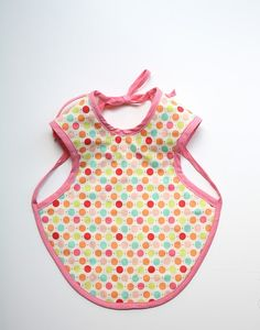 Cutest baby bib that I've ever laid eyes on! Gonna have to make more than one...