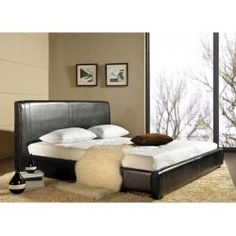 Abbyson Living Livingston Leather Bed LI-HC001