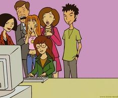 Find images and videos about Daria and jane lane on We Heart It - the app to get lost in what you love. Daria Morgendorffer, Daria Tv Show, Daria Mtv, Cartoon Tv Shows, A Cartoon, Cartoon Quotes, Disney Channel, Cartoon Network, Mood Pics
