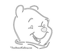 Winnie the Pooh Stencil | Free Stencil Gallery