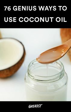 You (and your household, pets, hair, teeth, and more) won't believe how many different things... #coconutoil http://greatist.com/health/genius-ways-to-use-coconut-oil