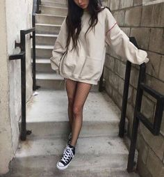 We Are Covered With Fishnet Stockings Wind! Fishnet Socks Combinations - We Are Covered With Fishnet Stockings Wind! Fishnet Socks Combinations Best Picture For outfits in - Grunge Outfits, Grunge Fashion, Fall Outfits, Casual Outfits, Fashion Outfits, Womens Fashion, Style Fashion, Fashion Ideas, Trendy Fashion