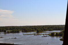 Archipelago outside city of Vaasa, Finland