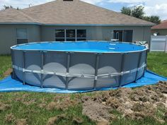 Above Ground Pool and How to Avoid Wasting Money on Kits — Aidnature Above Ground Pool Lights, Above Ground Pool Fence, Installing Above Ground Pool, Intex Above Ground Pools, Above Ground Pool Cover, Above Ground Pool Landscaping, Small Backyard Pools, Backyard Pool Designs, Above Ground Swimming Pools