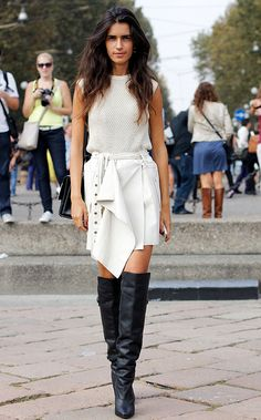 Street style semana de moda en Milan primavera verano 2014 Moda en la calle