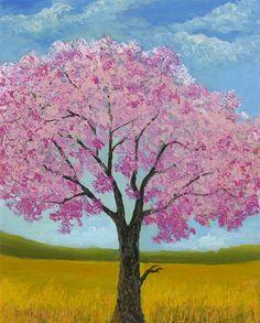 """Blushing Blooms"" (2015), David Najar  http://www.parkwestgallery.com/artwork-detail?ArtID=415453"