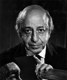 "Yousuf Karsh, self portrait. ""My chief joy is to photograph the great in heart, in mind, and in spirit, whether they be famous or humble."""