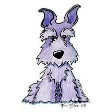 schnauzer cartoon - Google Search
