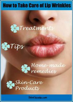 How to get rid of lines on your lips. Best way to remove upper lip wrinkles with beauty tips & treatments.