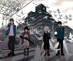 World Trigger. Pretty interesting. Not the best (especially in terms of animation quality) but pretty well-done