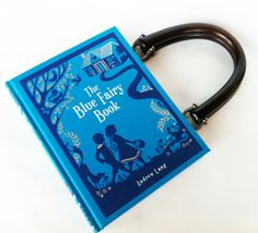 Hey, I found this really awesome Etsy listing at https://www.etsy.com/listing/128219049/the-blue-fairy-book-purse-or-book-clutch