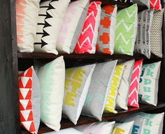 pretty pillows!