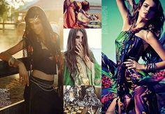 Moda: Diferença entre Gypsy, Folk e Boho.    Os movimentos culturais e históricos sempre inspiraram tendências e estilos.