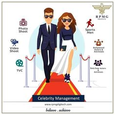 We are celeb friendly! A talent's focus is to highlight oneself, but a celebrity manager's job is to make a brand out of them.  Contact us for more details. Email ID: info@rpmgdigitech.com Phone: 9136009669 Website: www.rpmgdigitech.com   #digitalmarketing #rpmgdigitech