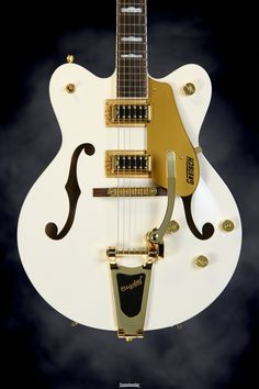 Gretsch G5422TDC Electromatic Double Cutaway Hollowbody - Snow Crest White   Sweetwater.com