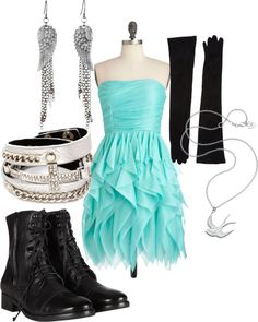 """""""a homecomeing idea""""  I don't like the shoes. So maybe flatts or heels.(:"""