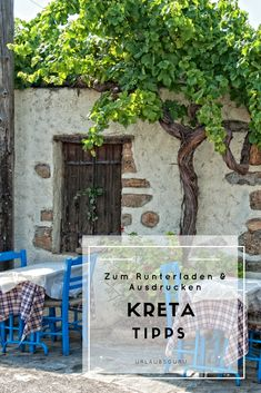 All important Crete tips at a glance - The Greek island of Crete has a lot to offer. Learn everything about the island in my Crete tips an - Greece Travel, Asia Travel, Santorini, Checklist Camping, Holiday Checklist, Portugal Holidays, Greece Holiday, Luxury Holidays, Nightlife Travel