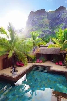 Dinarobin Resort & Spa in Mauritius >>> beautiful! Let's go here!