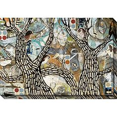 @Overstock - Energize your tired-looking walls with this contemporary oversized canvas art from Judy Paul. Large and colorful, this piece instantly commands attention, providing an excellent focal point to that draws together disparate design elements.  http://www.overstock.com/Home-Garden/Judy-Paul-Get-Out-II-Oversized-Canvas-Art/3894032/product.html?CID=214117 $141.99
